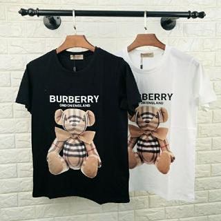 バーバリー(BURBERRY)のバーバリー クマちゃんのイラスト入り半袖Tシャツ(Tシャツ(半袖/袖なし))