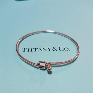 Tiffany & Co. - ティファニー ラブノット バングル