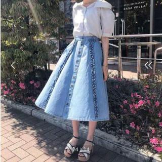 スナイデル(snidel)のtitty&Co. スカート(ひざ丈スカート)