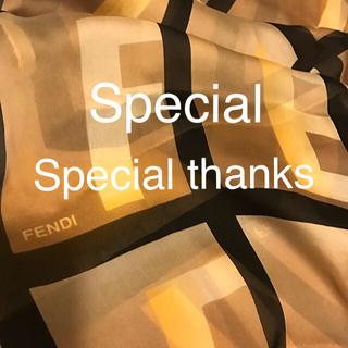 フェンディ(FENDI)の未使用 フェンディ シルクスカーフ    シフォン系 High Sense ‼︎(バンダナ/スカーフ)