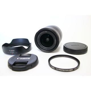 Canon - canon EF-M 11-22mm F4-5.6 フード フィルター付