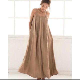ALEXIA STAM - ALEXIASTAM Linen Summer Maxi Dress Mocha