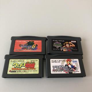 ゲームボーイアドバンス(ゲームボーイアドバンス)のGBA ゲームボーイアドバンス ソフトセット(携帯用ゲームソフト)