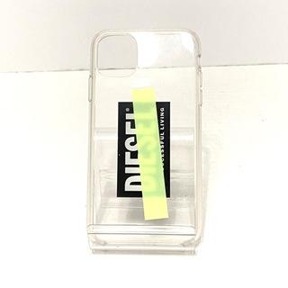 ディーゼル(DIESEL)のDIESEL(ディーゼル) 携帯電話ケース クリア(モバイルケース/カバー)