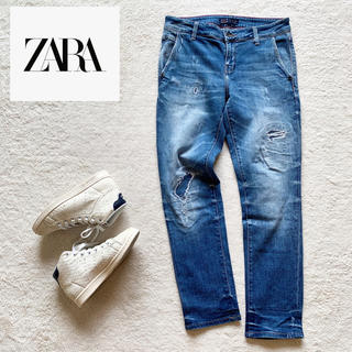 ZARA - 『ZARA』Z1975デニム ダメージ ストレッチ ジーンズ EUR36