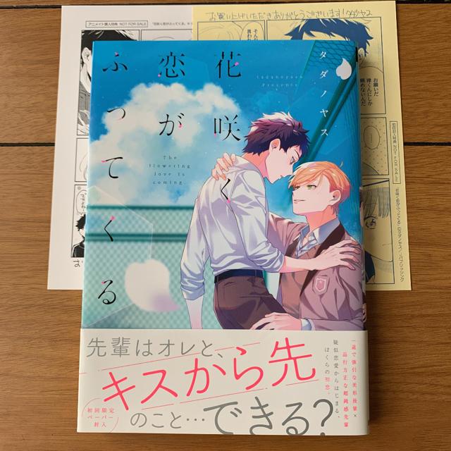 花咲く恋がふってくる タダノヤス エンタメ/ホビーの漫画(ボーイズラブ(BL))の商品写真
