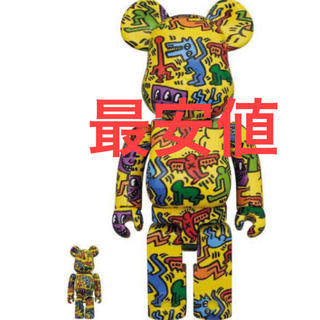 MEDICOM TOY - BE@RBRICK KEITH HARING 100% & 400%