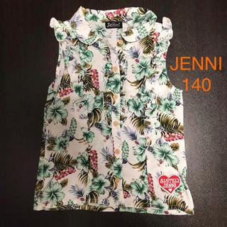 JENNI - 【JENNI/シスタージェニィ】ノースリーブ シャツ 140cm