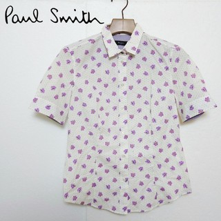 ポールスミス(Paul Smith)のPaul Smith ポールスミス 総柄シャツ(シャツ/ブラウス(半袖/袖なし))