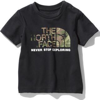 THE NORTH FACE - 【新品未使用】ノースフェイス Tシャツ カモロゴティー ブラック 80