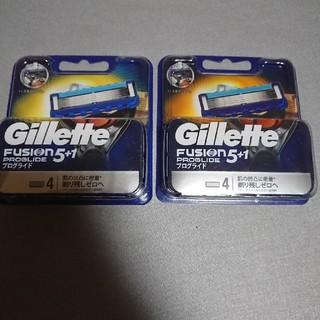 ジレット フュージョン5+1 プログライド4個入×2