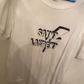 Saint Laurent - 正規品 サンローラン 花のち晴れ 今田美桜着用 ライトニングボルトTシャツ