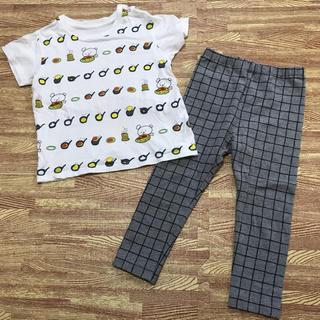 ユニクロ(UNIQLO)のユニクロ こぐまちゃん Tシャツ レギンス レギパン セット サイズ90(その他)