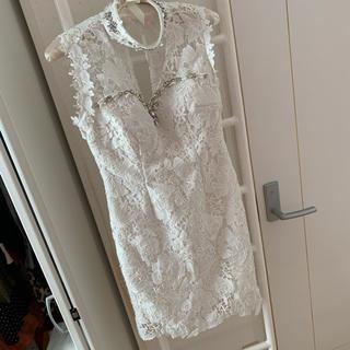 Jewels 白レース タイトドレス キャバドレス