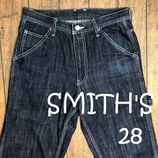 スミス(SMITH)のSMITH'S ペインターパンツ 28/スミス、コーエン、ブラックデニム(ワークパンツ/カーゴパンツ)
