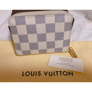 LOUIS VUITTON - 美品 ルイヴィトン  ジッピー 財布 ダミエ コインパース 小銭入れ