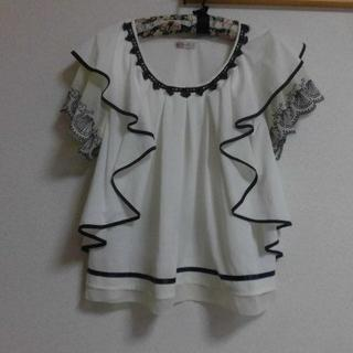 axes femme - 少し難ありaxes femme★貝など涼しげ カットソーM