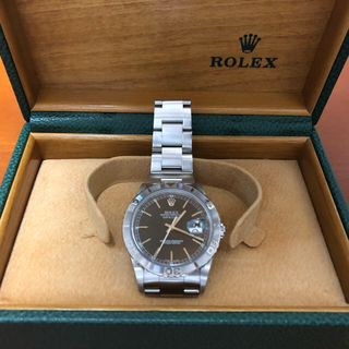 ROLEX - 腕時計 ロレックス デイトジャスト サンダーバード ブラック メンズ ROLEX