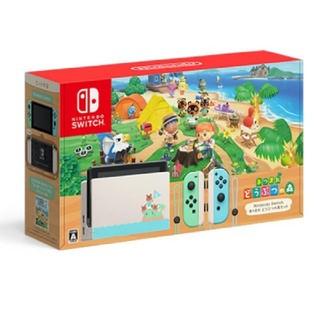 Nintendo Switch - Nintendo Switch 本体 あつまれどうぶつの森