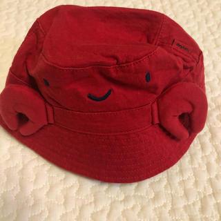 ベビーギャップ(babyGAP)のbaby Gap カニさん帽子 46cm(帽子)