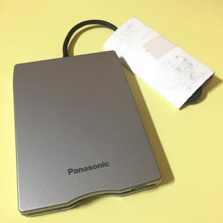 パナソニック(Panasonic)のPanasonic CF-VFDU03;【新品】外付けフロッピーディスクドライブ(PC周辺機器)
