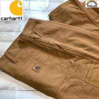 カーハート(carhartt)のcarhartt 90's 革パッチ ダンガリーフィット ビッグサイズ(デニム/ジーンズ)