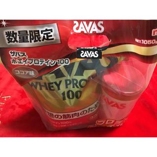 ザバス(SAVAS)のサバス プロテイン ココア味(プロテイン)
