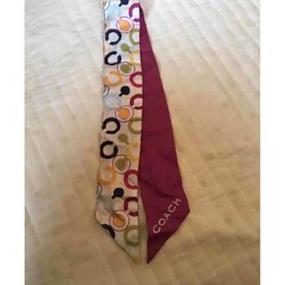 コーチ(COACH)のCOACH スカーフ(バンダナ/スカーフ)