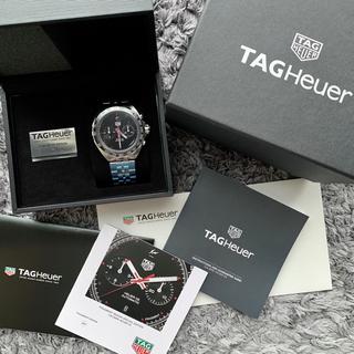 タグホイヤー(TAG Heuer)のフラグメント タグホイヤー ホイヤー02 クロノグラフ 送料込!(腕時計(アナログ))