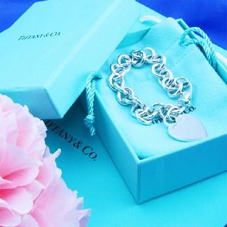 Tiffany & Co. - ☆TIFFANY&Co.(ティファニー)ハートタグブレスレット