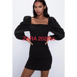 ZARA - 新品タグ付き ZARA ザラ ワックス仕上げ ワンピース