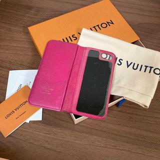 LOUIS VUITTON - LOUIS VUITTON iPhone7 FOLIO MNG ROSE