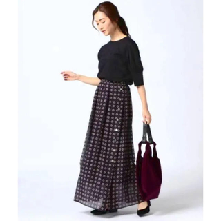 ニジュウサンク(23区)の23区 新品 スカート(ロングスカート)