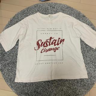 オゾック(OZOC)のOZOC 白ティシャツ(Tシャツ/カットソー(半袖/袖なし))