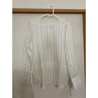 トゥデイフル(TODAYFUL)の新品未使用!bonny Stripe shirt(シャツ/ブラウス(長袖/七分))