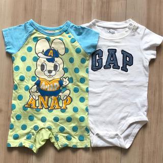アナップキッズ(ANAP Kids)のANAP kidsロンパース80㎝(ロンパース)