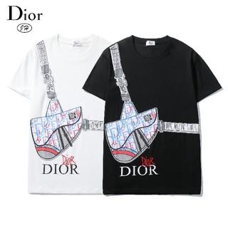 Dior -   ディオー◓ル ◔Tシャツ 男女兼用♧