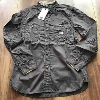 ドアーズ(DOORS / URBAN RESEARCH)の新品 DOORS  Lee シャツ 長袖 羽織り ミリタリシャツ ワークシャツ(シャツ)