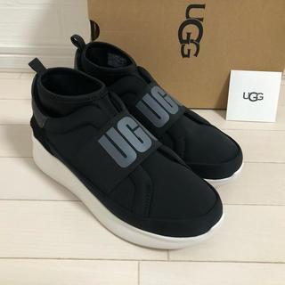 UGG - 【新品未使用】24.0 UGG NEUTRA スニーカー ブラック
