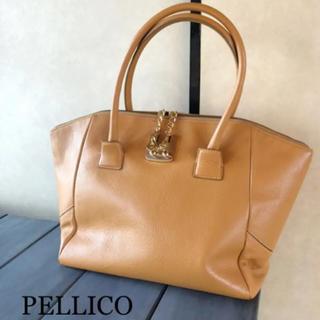 ペリーコ(PELLICO)のPELLICO レザーハンドBAG(ハンドバッグ)