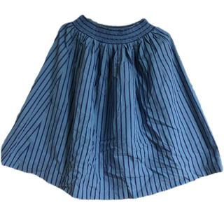 エヘカソポ(ehka sopo)のehkasopo エヘカソポ ストライプスカート(ひざ丈スカート)