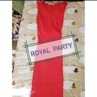 ROYAL PARTY - *summer sale* ROYAL  PARTY ノースリーブワンピース