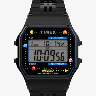 タイメックス(TIMEX)のTimexパックマン T80×PAC-MANパックマン black 40周年記念(腕時計(デジタル))