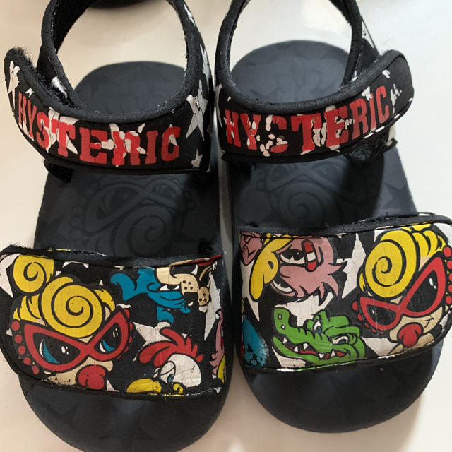 HYSTERIC MINI(ヒステリックミニ)のヒステリックミニ サンダル キッズ/ベビー/マタニティのキッズ靴/シューズ(15cm~)(サンダル)の商品写真