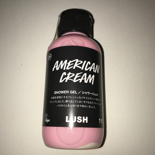 LUSH - LUSH アメリカンクリーム シャワージェル 110g