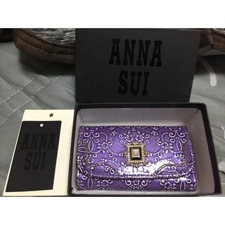 ANNA SUI - ANNA SUI アナスイ ルーミー紫キーケース 美品