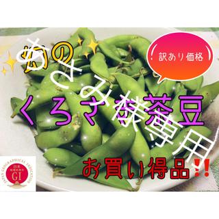 【8/11着】新潟県黒埼産 くろさき茶豆2kg  訳あり品(ハネ豆)(野菜)