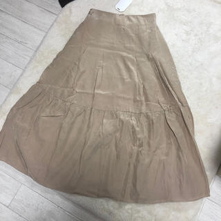 TODAYFUL - bonny サテンフレアスカート
