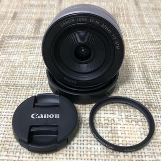 Canon - Canon  EF-M 22mm STM 単焦点レンズ  シルバー