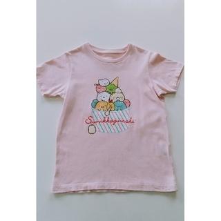 UNIQLO - 120cm、GIRLS すみっコぐらしUT(グラフィックTシャツ・半袖)